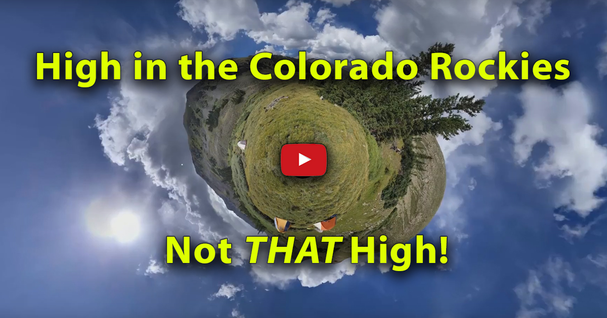 High in the Colorado Rockies